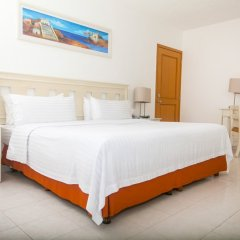 Отель Holiday Inn Cancun Arenas Мексика, Канкун - отзывы, цены и фото номеров - забронировать отель Holiday Inn Cancun Arenas онлайн комната для гостей фото 7