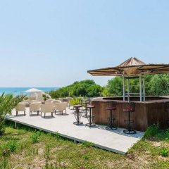 Отель Nergos Garden пляж фото 2