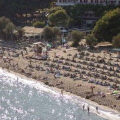 Отель Apartamentos La Cabanya пляж