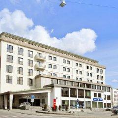 Отель Thon Hotel Saga Норвегия, Гаугесунн - отзывы, цены и фото номеров - забронировать отель Thon Hotel Saga онлайн вид на фасад