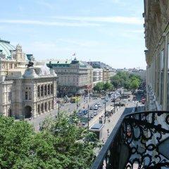 Отель Das Opernring Hotel Австрия, Вена - 6 отзывов об отеле, цены и фото номеров - забронировать отель Das Opernring Hotel онлайн балкон