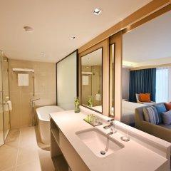 Отель M Pattaya Hotel Таиланд, Паттайя - отзывы, цены и фото номеров - забронировать отель M Pattaya Hotel онлайн ванная