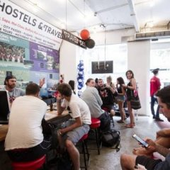 Отель Vietnam Backpacker Hostels - Downtown гостиничный бар