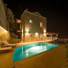 Villa Asteria Турция, Калкан - отзывы, цены и фото номеров - забронировать отель Villa Asteria онлайн бассейн