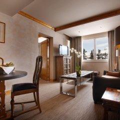 Отель Alpes Hôtel du Pralong комната для гостей