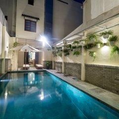 Отель Kim's Villa Hoi An бассейн