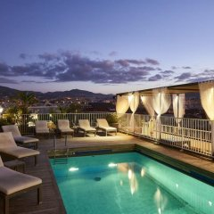 Отель Gounod Hotel Франция, Ницца - 7 отзывов об отеле, цены и фото номеров - забронировать отель Gounod Hotel онлайн бассейн фото 2