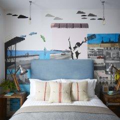 Отель Artist Residence Великобритания, Брайтон - отзывы, цены и фото номеров - забронировать отель Artist Residence онлайн пляж фото 2