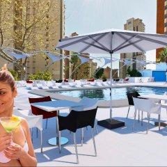 Отель Flamingo Beach Resort Испания, Бенидорм - отзывы, цены и фото номеров - забронировать отель Flamingo Beach Resort онлайн бассейн фото 3
