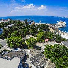 Гостиница Санаторий Анапа Океан в Анапе 1 отзыв об отеле, цены и фото номеров - забронировать гостиницу Санаторий Анапа Океан онлайн пляж