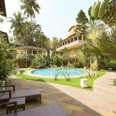 Отель GuestHouser 3 BHK Villa 338d Гоа бассейн фото 2