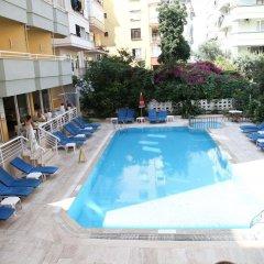 Alin Hotel Турция, Аланья - 13 отзывов об отеле, цены и фото номеров - забронировать отель Alin Hotel онлайн бассейн фото 2