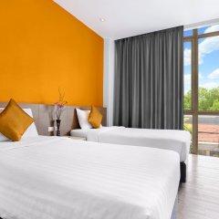 Отель D Varee Xpress Makkasan Таиланд, Бангкок - 1 отзыв об отеле, цены и фото номеров - забронировать отель D Varee Xpress Makkasan онлайн комната для гостей фото 5