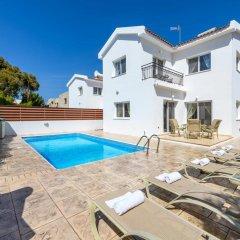 Отель Villa Zacharia Кипр, Протарас - отзывы, цены и фото номеров - забронировать отель Villa Zacharia онлайн бассейн фото 3