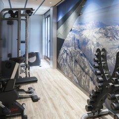 Отель Catalonia Gran Via фитнесс-зал