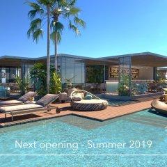 Aguas de Ibiza Grand Luxe Hotel бассейн