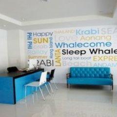 Отель Sleep Whale Express Таиланд, Краби - отзывы, цены и фото номеров - забронировать отель Sleep Whale Express онлайн интерьер отеля