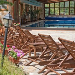 Отель Panorama Resort Болгария, Банско - отзывы, цены и фото номеров - забронировать отель Panorama Resort онлайн бассейн фото 2