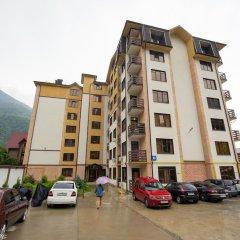Апартаменты More Apartments na GES 5 (3) Красная Поляна парковка