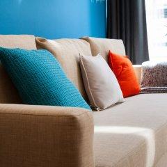 Отель City Center Apartments Brasseurs Бельгия, Брюссель - отзывы, цены и фото номеров - забронировать отель City Center Apartments Brasseurs онлайн комната для гостей фото 2