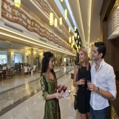 Crystal Tat Beach Golf Resort & Spa Турция, Белек - 1 отзыв об отеле, цены и фото номеров - забронировать отель Crystal Tat Beach Golf Resort & Spa онлайн интерьер отеля фото 3