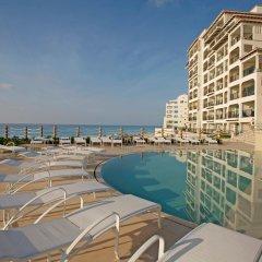Отель Grand Park Royal Luxury Resort Cancun Caribe Мексика, Канкун - 3 отзыва об отеле, цены и фото номеров - забронировать отель Grand Park Royal Luxury Resort Cancun Caribe онлайн пляж фото 2
