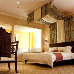 Отель Overseas Capital Hotel Китай, Джиангме - отзывы, цены и фото номеров - забронировать отель Overseas Capital Hotel онлайн комната для гостей фото 5