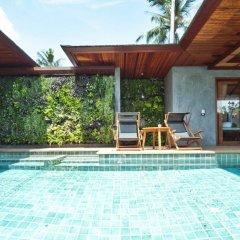 Отель Tango Luxe Beach Villa Samui Таиланд, Самуи - 1 отзыв об отеле, цены и фото номеров - забронировать отель Tango Luxe Beach Villa Samui онлайн бассейн фото 3