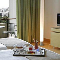 Отель Hilton Athens 5* Стандартный номер разные типы кроватей фото 19