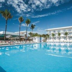 Отель Riu Playacar Плая-дель-Кармен бассейн