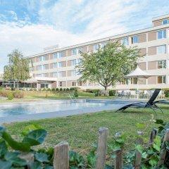Отель Novotel Antwerpen Бельгия, Антверпен - 1 отзыв об отеле, цены и фото номеров - забронировать отель Novotel Antwerpen онлайн приотельная территория фото 2