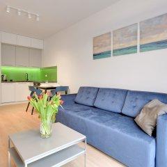 Апартаменты Lion Apartments -Bari Сопот комната для гостей фото 3