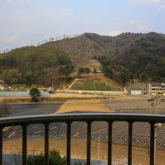 Отель Boosung Park Motel Южная Корея, Пхёнчан - отзывы, цены и фото номеров - забронировать отель Boosung Park Motel онлайн балкон