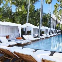 Отель Delano South Beach бассейн
