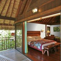 Отель Sofitel Bora Bora Private Island Французская Полинезия, Бора-Бора - отзывы, цены и фото номеров - забронировать отель Sofitel Bora Bora Private Island онлайн балкон
