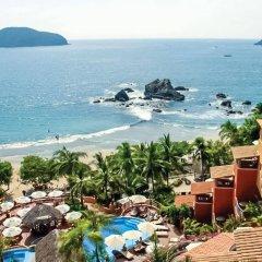 Отель Embarc Zihuatanejo пляж фото 2