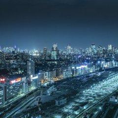 Отель The Strings By Intercontinental Tokyo Токио балкон