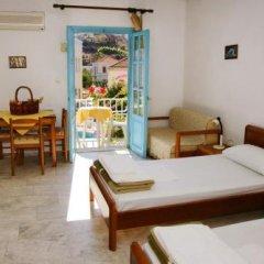 Отель Katerina Apartments Греция, Калимнос - отзывы, цены и фото номеров - забронировать отель Katerina Apartments онлайн комната для гостей фото 3