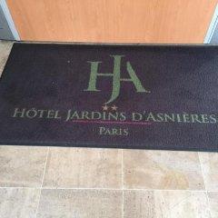 Отель Les Jardins d'Asnières спортивное сооружение
