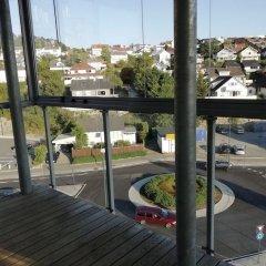Отель Gauk Apartments Sentrum 3 Норвегия, Санднес - отзывы, цены и фото номеров - забронировать отель Gauk Apartments Sentrum 3 онлайн балкон