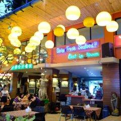 Отель Villa Cha Cha Rambuttri Бангкок развлечения