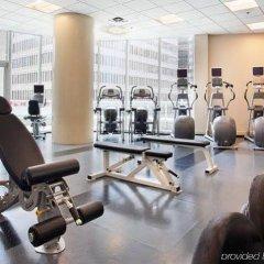Отель Vancouver Marriott Pinnacle Downtown фитнесс-зал фото 4