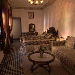 Отель Riad dar Chrifa Марокко, Фес - отзывы, цены и фото номеров - забронировать отель Riad dar Chrifa онлайн комната для гостей фото 3