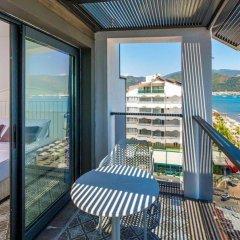 Aurasia Beach Hotel Турция, Мармарис - отзывы, цены и фото номеров - забронировать отель Aurasia Beach Hotel онлайн балкон