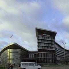 Гостиница Minsk Marriott парковка
