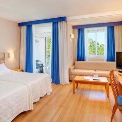 Отель Hipotels Eurotel Punta Rotja & Spa комната для гостей