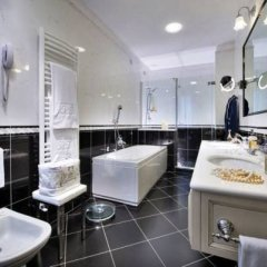 Отель Tritone Terme Италия, Абано-Терме - отзывы, цены и фото номеров - забронировать отель Tritone Terme онлайн ванная