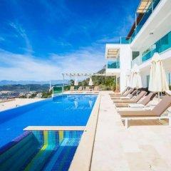 Villa Montana Турция, Патара - отзывы, цены и фото номеров - забронировать отель Villa Montana онлайн бассейн фото 2