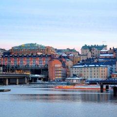 Отель Hilton Stockholm Slussen Швеция, Стокгольм - 9 отзывов об отеле, цены и фото номеров - забронировать отель Hilton Stockholm Slussen онлайн приотельная территория фото 2