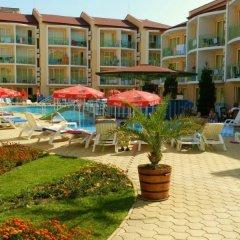 Отель Sun City Hotel Болгария, Солнечный берег - отзывы, цены и фото номеров - забронировать отель Sun City Hotel онлайн пляж фото 2
